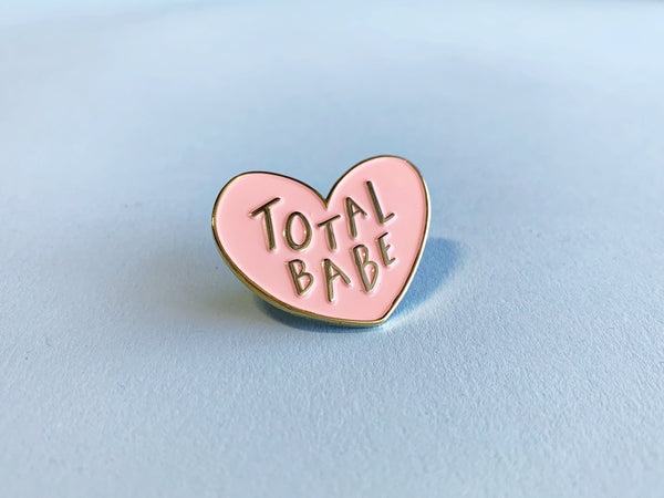 Total babe lapel pin - Craft Boner