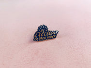 Be excellent to each other lapel pin