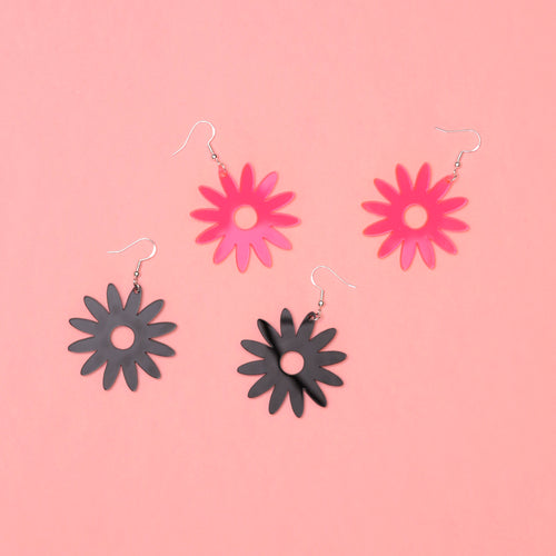 Daisy Acrylic Earrings