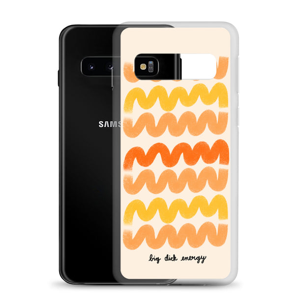 Big dick energy Samsung case - Craft Boner