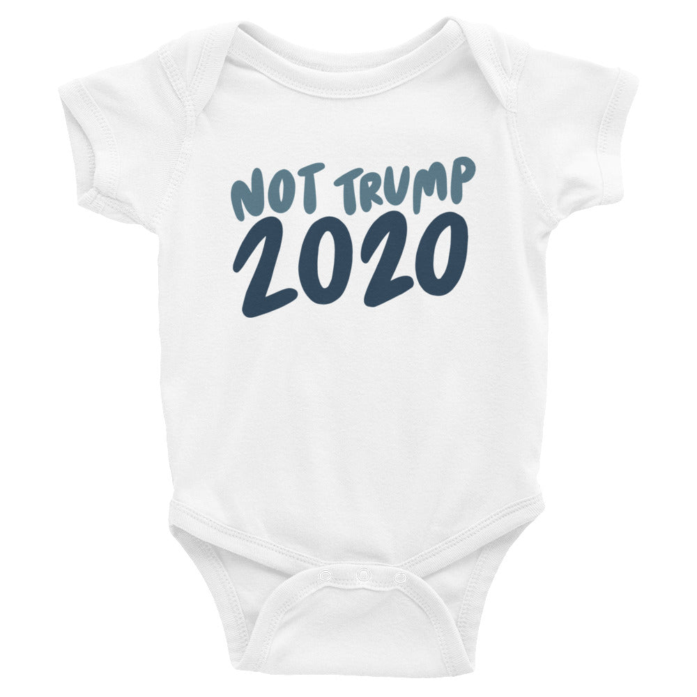Not Trump 2020 baby onesie - Craft Boner