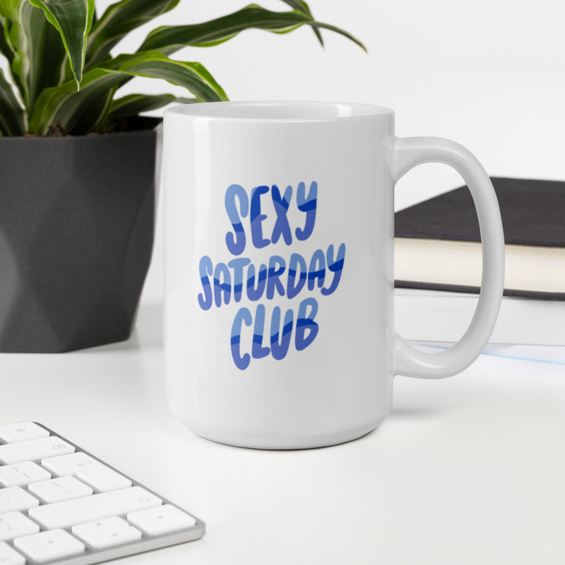 Sexy Saturday Club Jumbo Mug
