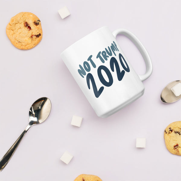 Not Trump 2020 jumbo mug - Craft Boner