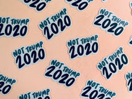 Not Trump 2020 sticker - Craft Boner