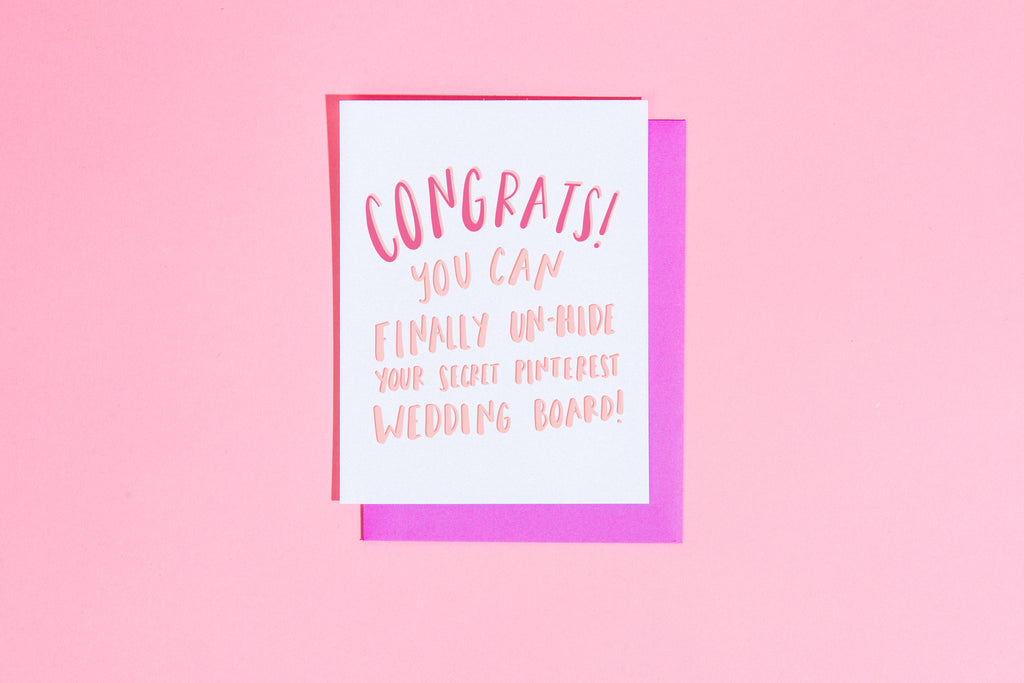 Pinterest engagement card - Craft Boner