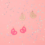 Pretzel Acrylic Earrings