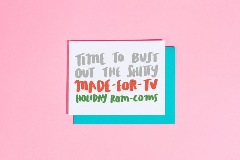 Time to bust out the shitty made-for-TV holiday rom-coms card - Craft Boner