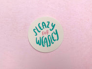 Sleazy for Weasley sticker - Craft Boner
