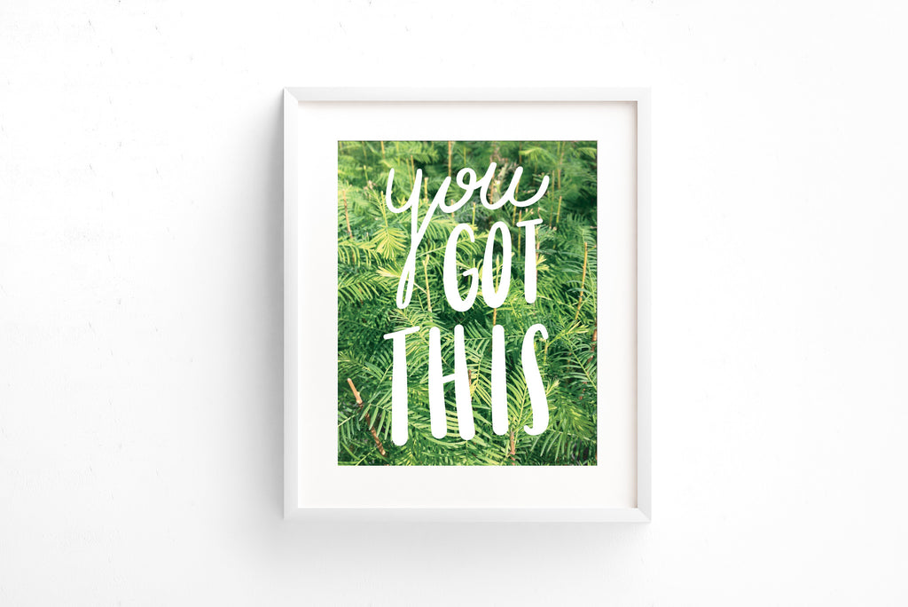 You got this art print - Craft Boner