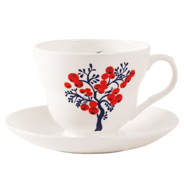 Berry Tree Cup & Saucer SOLD OUT