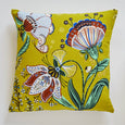 Indian Garden Cushion Olive