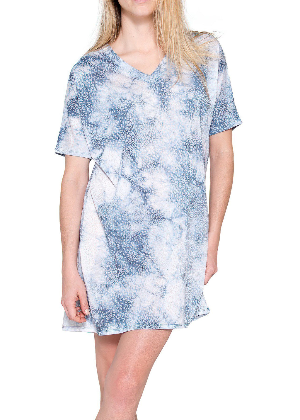 Artire Nightshirt - Chambray Mystique Intimates