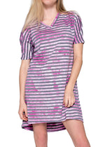 Artire Stripe Nightshirt - Rose Mystique Intimates