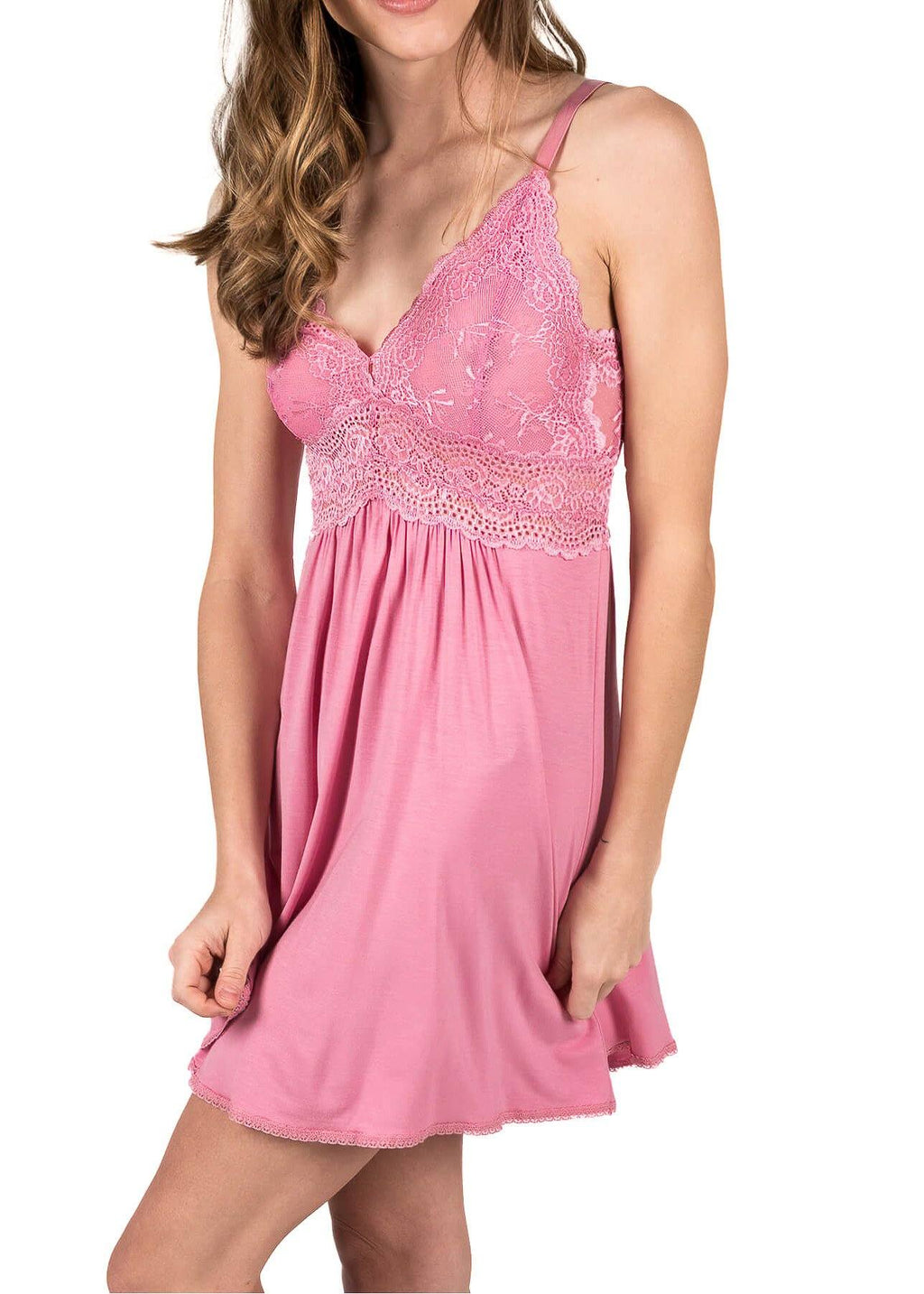 Bliss Chemise - Sea Pink Mystique Intimates