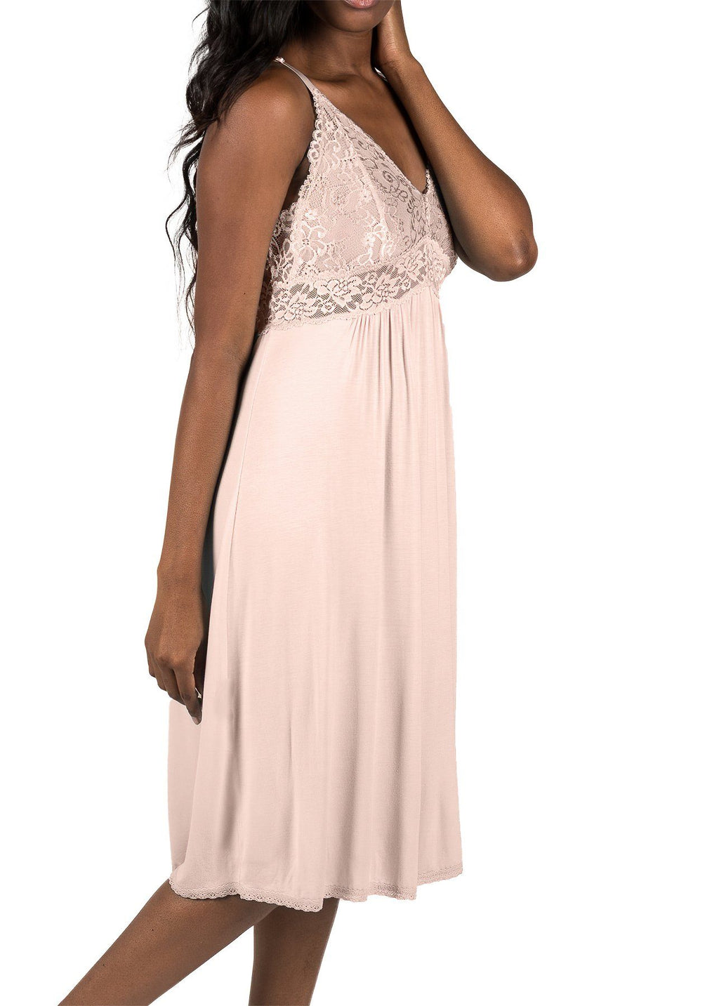 Bliss Nightgown - Blush Pink Mystique Intimates