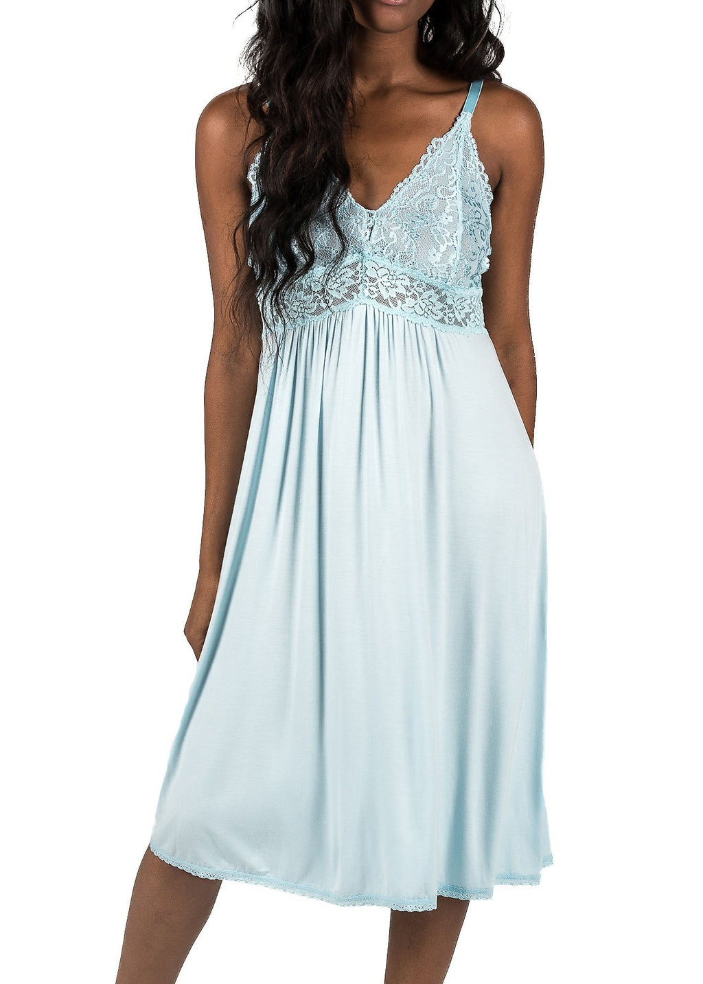 Bliss Nightgown - Starlight Blue Mystique Intimates
