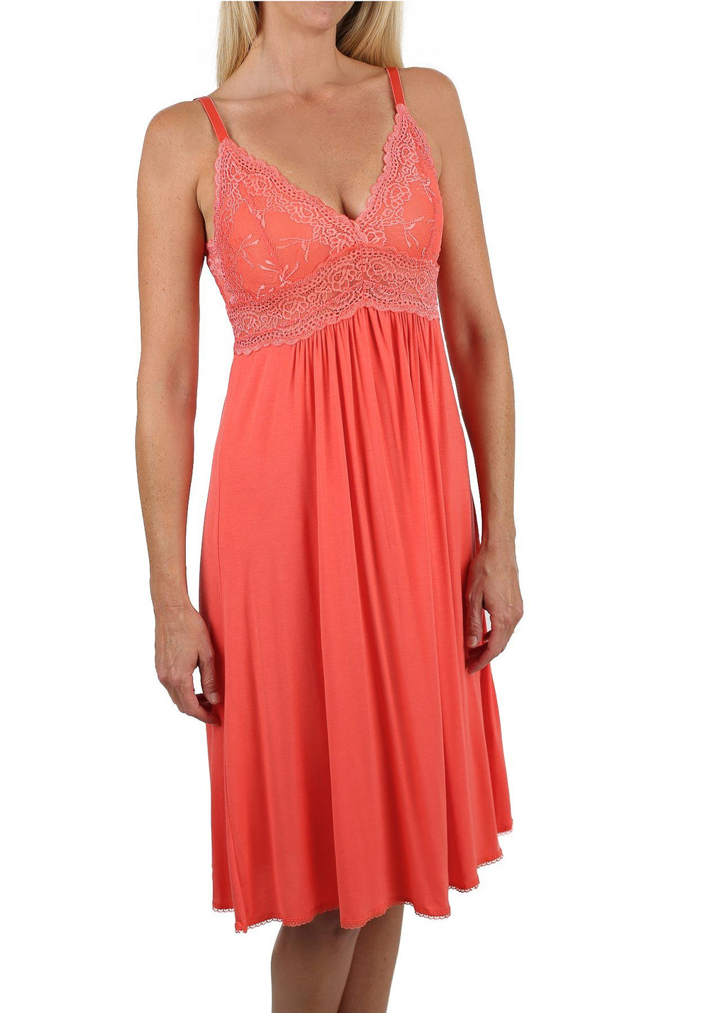 Bliss Nightgown - Persimmon Mystique Intimates