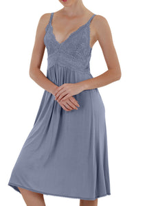 Bliss Nightgown - Vintage Blue Mystique Intimates