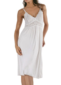 Bliss Knit Nightgown - White Mystique Intimates