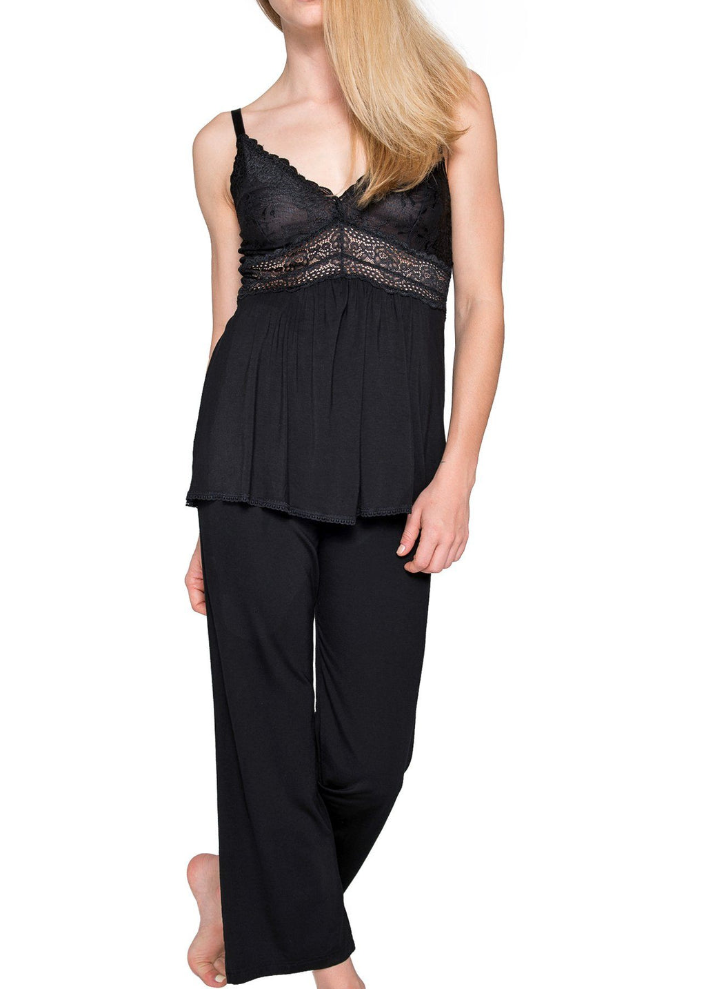 Bliss Pajama Set - Black Mystique Intimates