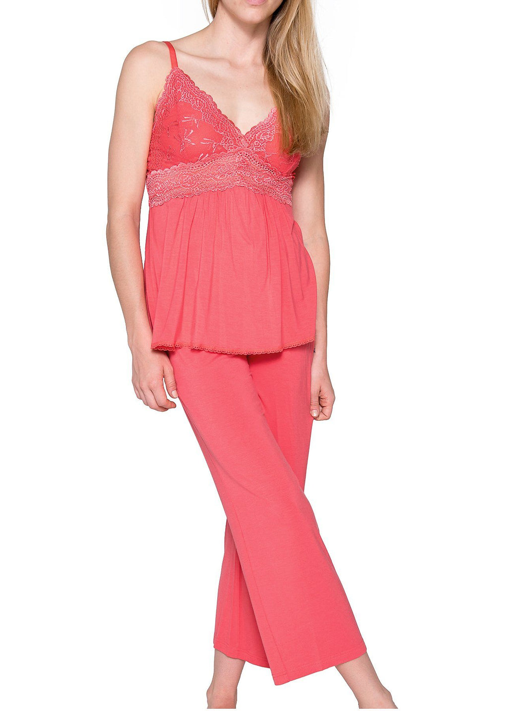 Bliss Pajama - Persimmon Mystique Intimates