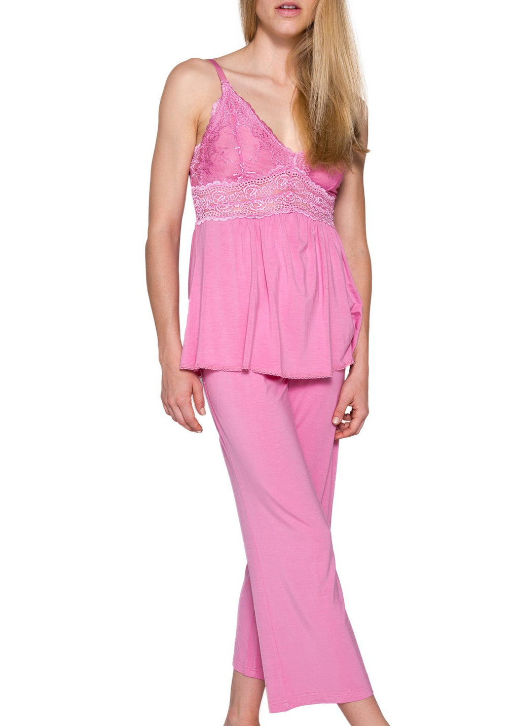 Bliss Pajama - Sea Pink Mystique Intimates