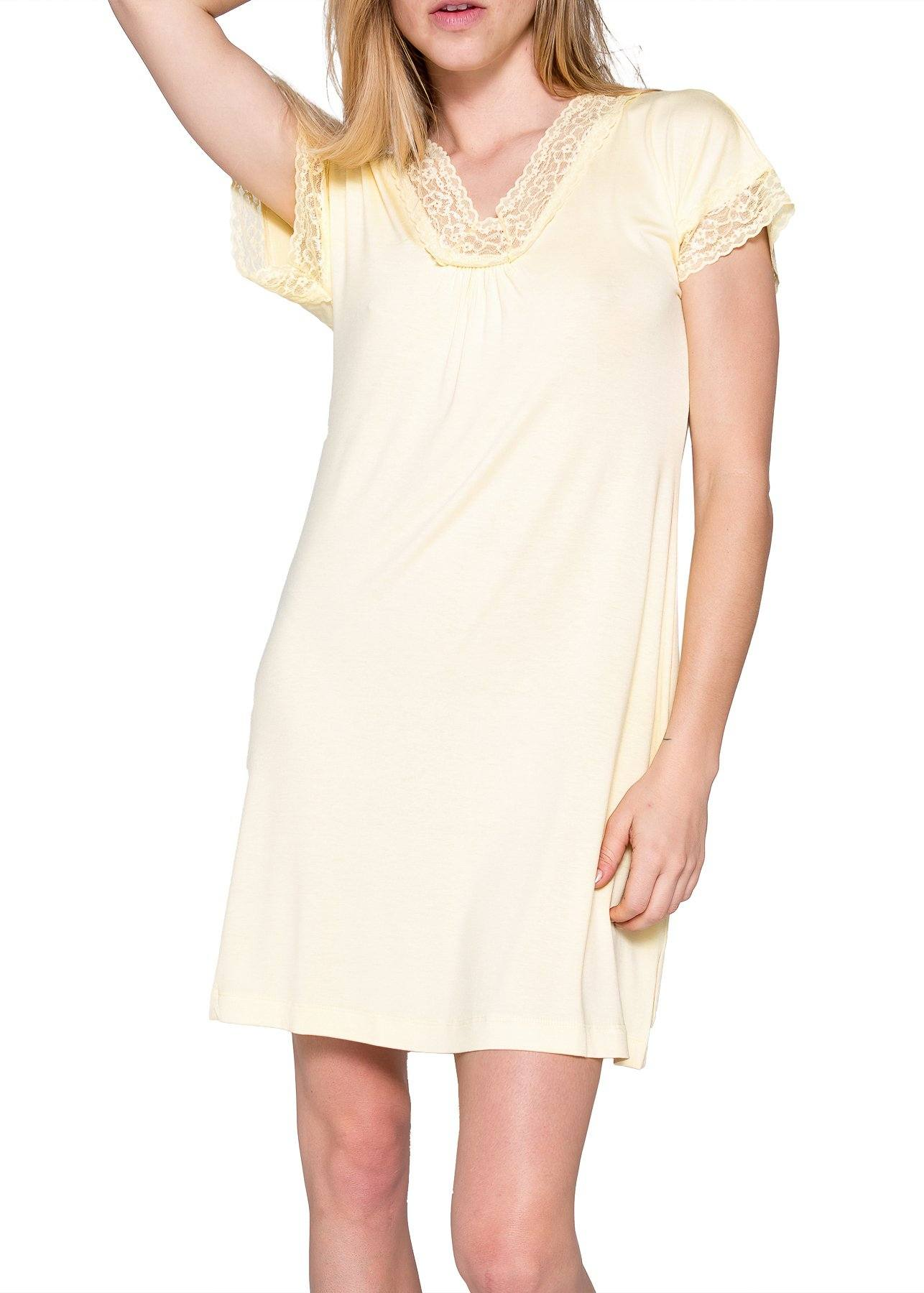 Carla Sleepshirt - Butter Mystique Intimates