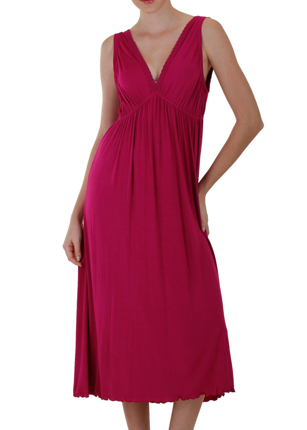 Celia Nightgown - Berry Mystique Intimates