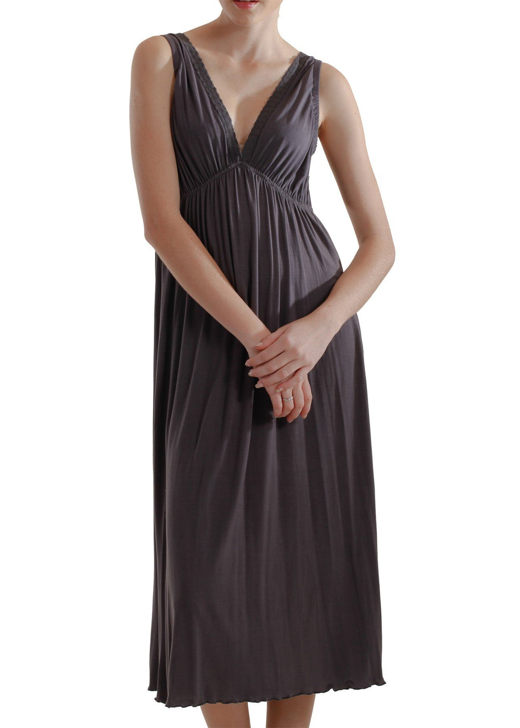 Celia Nightgown - Pewter Mystique Intimates