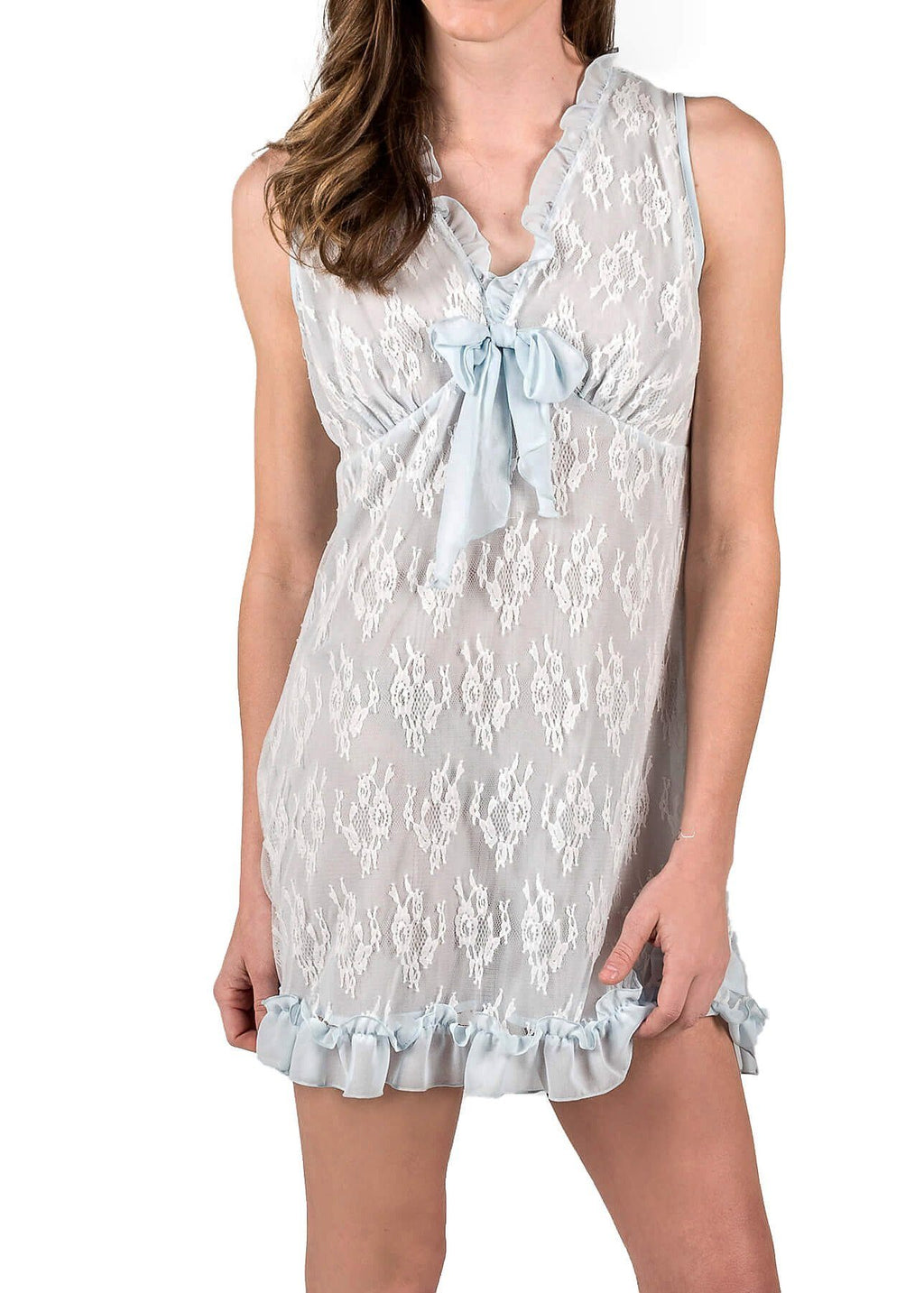 Chantilly Chemise #28834 in Cloud Blue