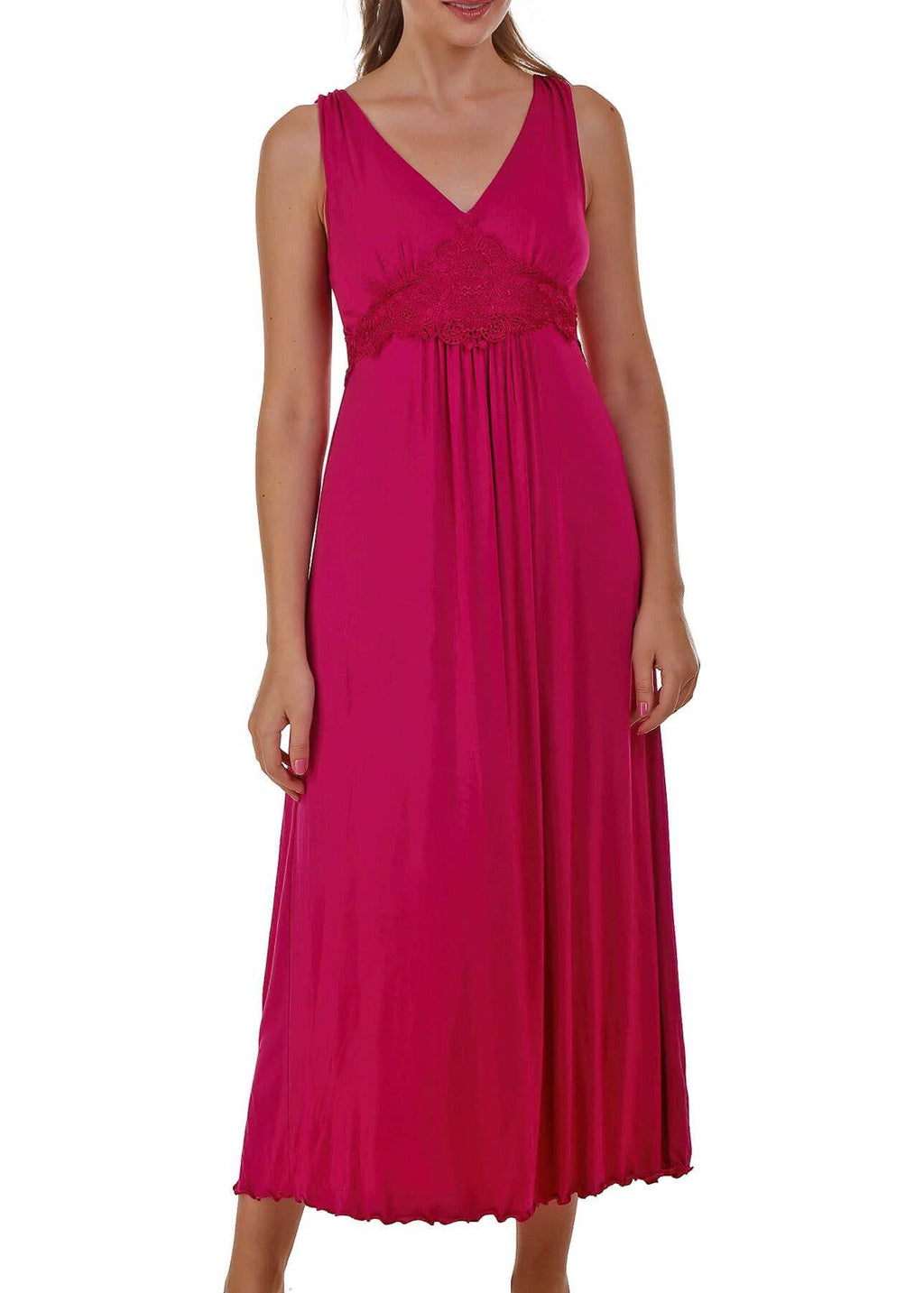 Dreamy Nightgown - Berry Mystique Intimates