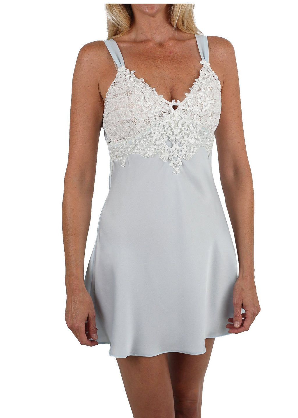 Enchanting Chemise - Bridal Blue Mystique Intimates