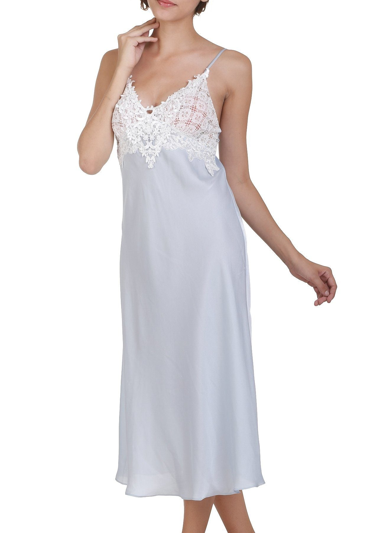 Enchanting Nightgown - Bridal Blue Mystique Intimates