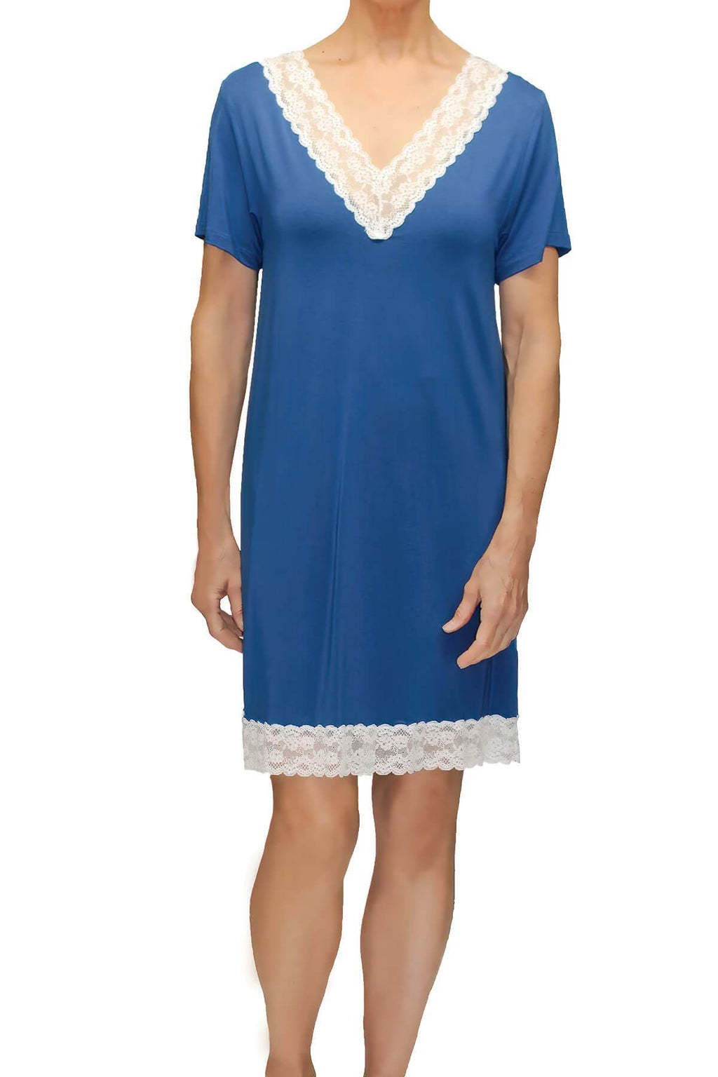 Lily Sleepshirt - Cadet Blue Mystique Intimates