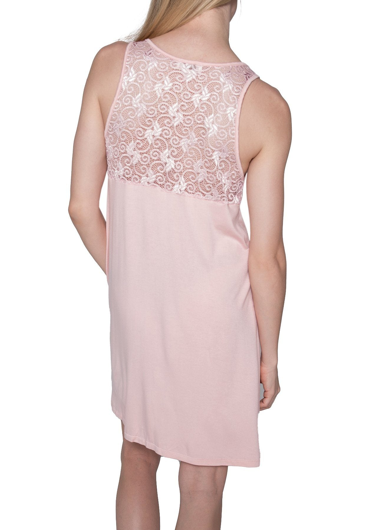 Olivia Short Gown - Seashell Pink Mystique Intimates