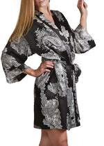 Raeanna Printed Short Robe Mystique Intimates