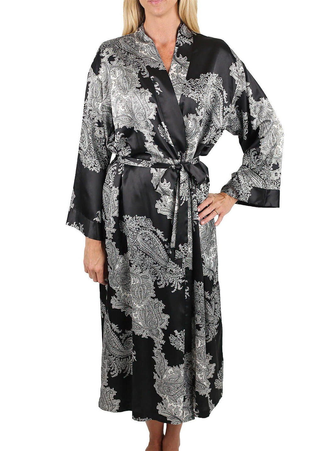 Raeanna Long Printed Robe Mystique Intimates