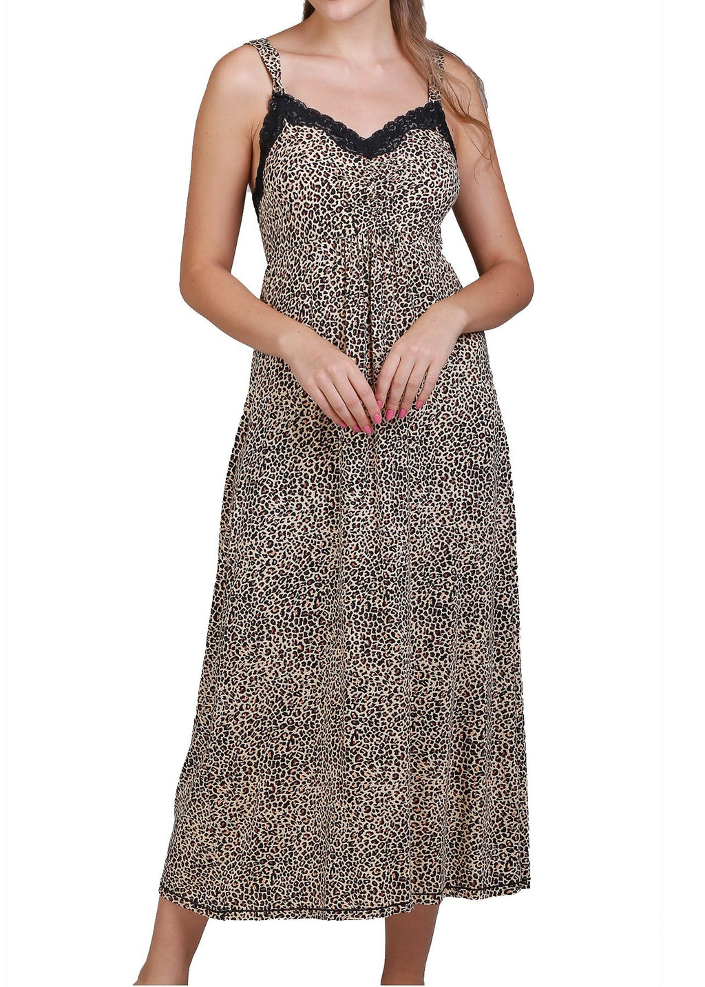 Leopard Print Nightgown Mystique Intimates