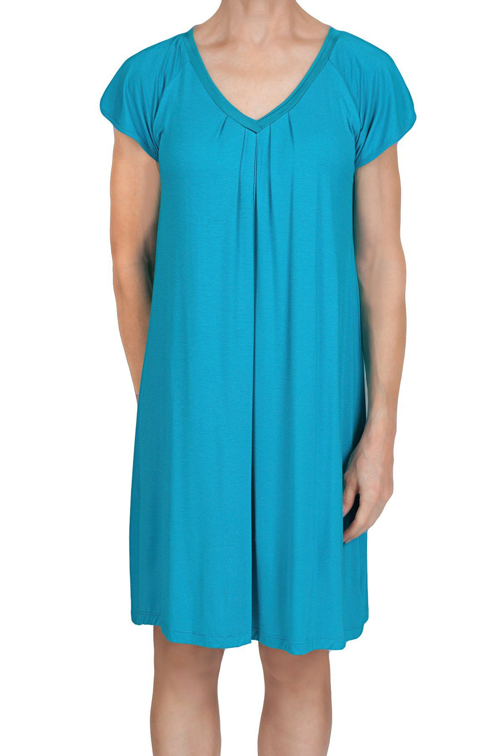 Sydney Knit Nightshirt - Malta Blue Mystique Intimates