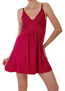 Berry Chemise Nightgown Mystique Intimates