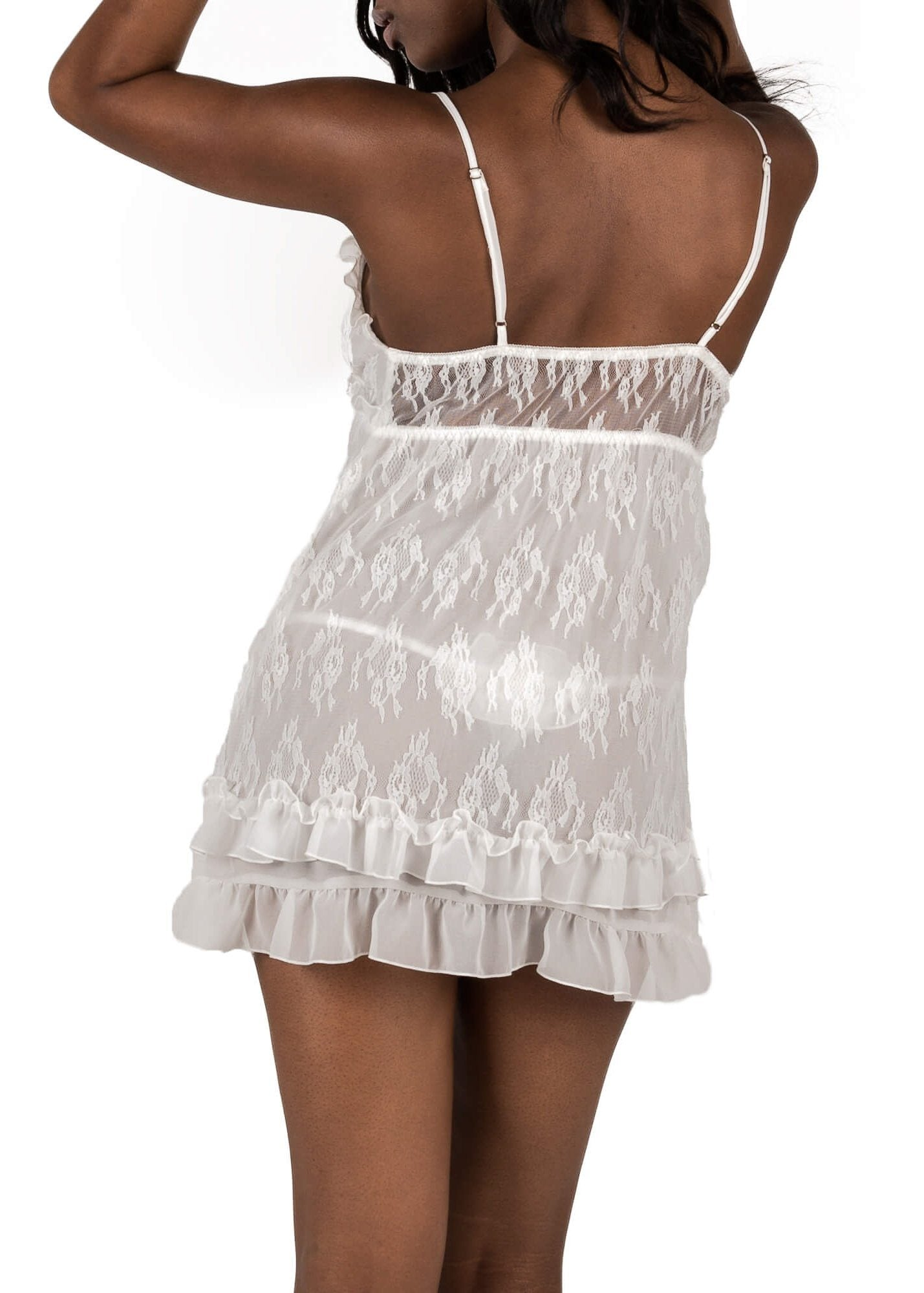 Chantilly Babydoll - White Mystique Intimates