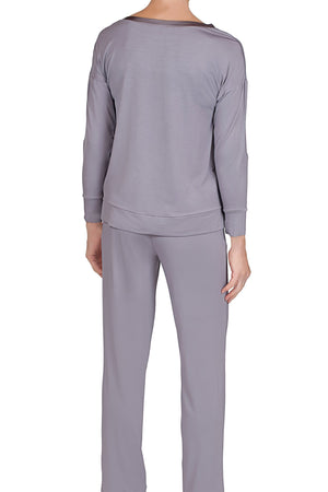 Madison Pajama - Iris Gray Mystique Intimates
