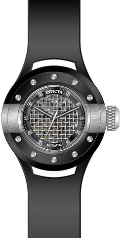 Invicta Men's S1 Rally Black Band Steel Case Automatic Analog Watch 20101