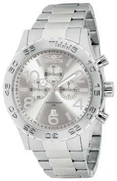 Invicta Men's 1269 Specialty Chronograph Silver Dial Watch