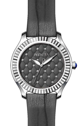 Invicta Women's 22565 Angel Quartz 3 Hand Grey Dial Watch
