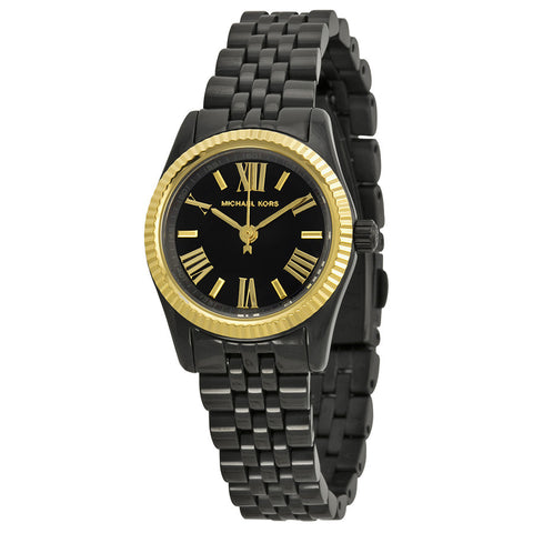 Michael Kors Silver Dial Gold-tone Stainless Steel Ladies Watch MK3229