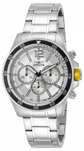 Invicta Men's INVICTA-13975 Specialty Analog Display Silver Watch