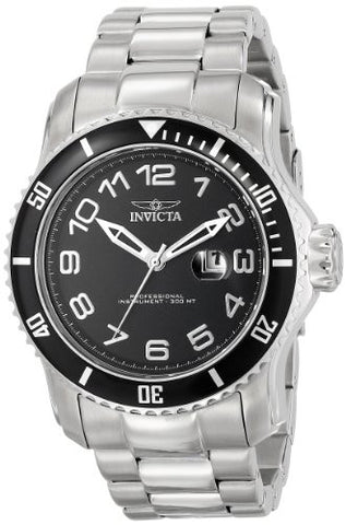 Invicta Men's 15072 Pro Diver Analog Display Japanese Quartz Silver Watch