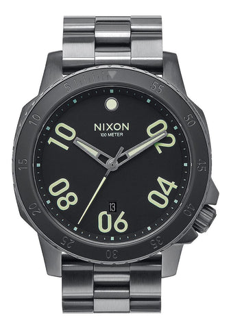 Nixon Men's A5061418 Ranger Analog Display Japanese Quartz Grey Watch