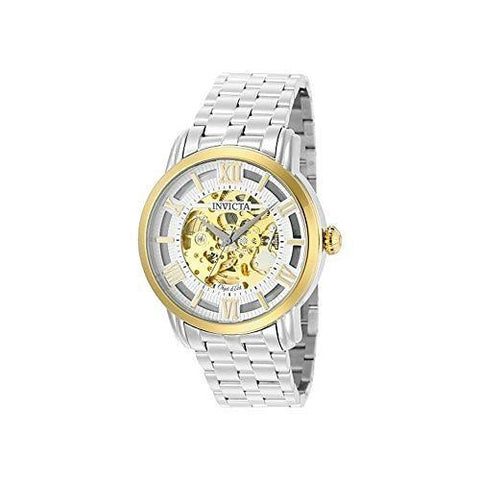 Invicta Men's 22627 Objet D Art Automatic 3 Hand Silver Dial Watch